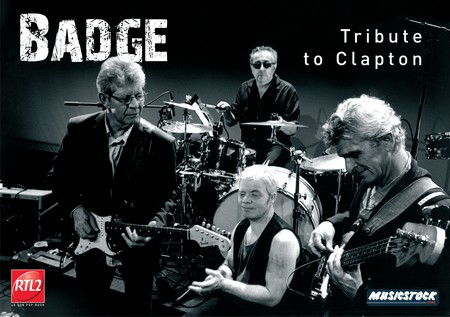 BADGE - Tribute To Clapton