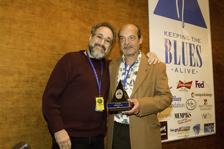 Didier Tricard et Bruce Iglauer à Memphis en 2011