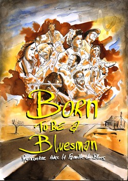 Visuel Born to be a bluesman